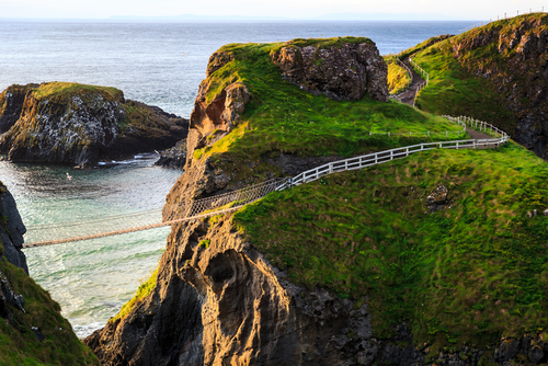 Carrick-a-Rede: The Most Famous Rope Bridge in the World?